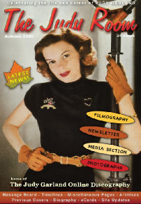 Judy Room Magazine Cover