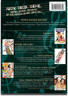 Classic Musicals from the Dream Factory Volume 2 back of the DVD box