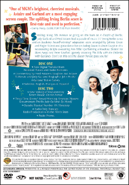 Easter Parade DVD back cover art