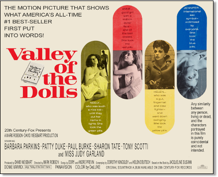 Valley of the Dolls fake poster