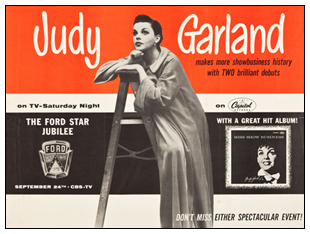 Judy Garland Ford Star Jubilee
