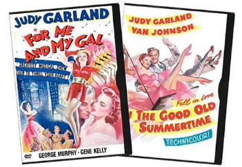 For Me and My Gal and In the Good Old Summertime DVDs