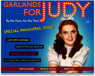 Garlands for Judy inaugural issue