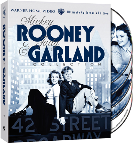 The Mickey Rooney & Judy Garland DVD Collection