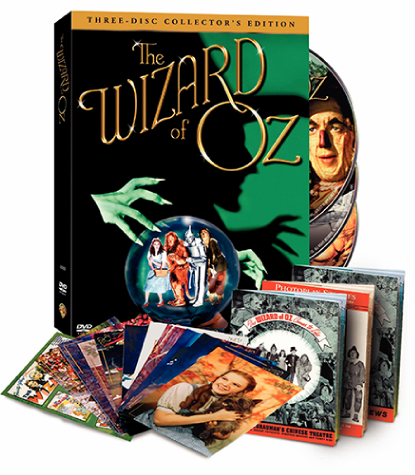 The Wizard of Oz 3 disc DVD
