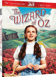 The Wizard of Oz in 3D on Blu-ray