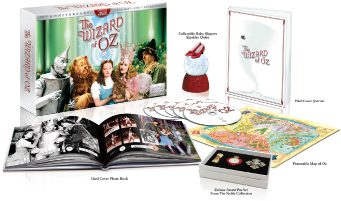 The Wizard of Oz 75th Anniversary Boxed Set - Details