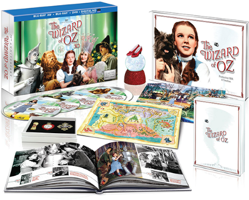 "Original ""Beauty Shot"" of the 75th Anniversary edition of The Wizard of Oz boxed set"