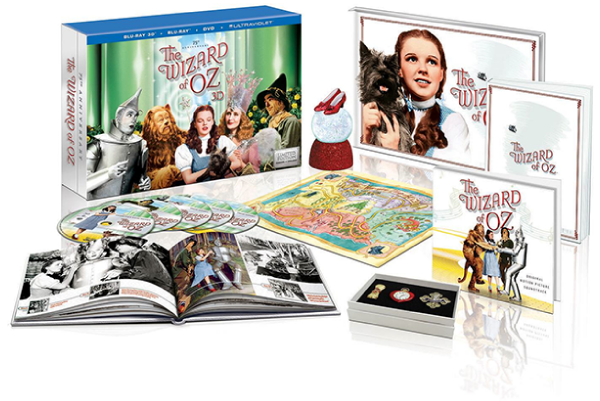 Costco edition of The Wizard of Oz 75th Anniversay Boxed Set