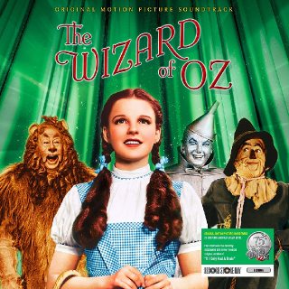 The Wizard of Oz special green vinyl Record Store Day 2014 edition