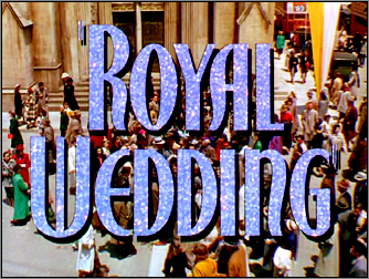 Royal Wedding title card