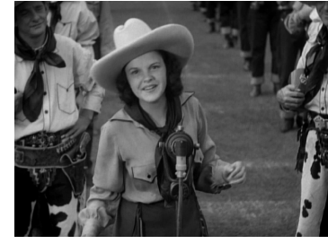 "Judy Garland sings ""It's Love I'm After"" in ""Pigskin Parade"""