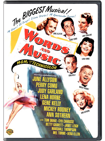 Words and Music on DVD