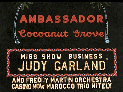 Miss Show Business - Judy Garland
