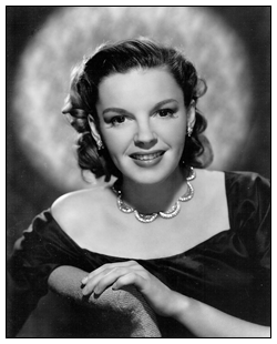 1948 Portrait of Judy Garland from the MGM Studios