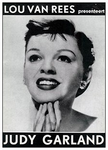 Judy Garland in Amsterdam program