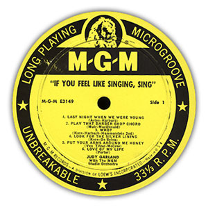 MGM Record Label