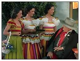 "The Garland Sisters in ""La Fiesta De Santa Barbara"""