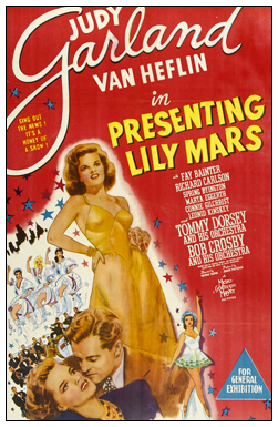 Presenting Lily Mars three sheet poster